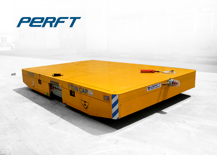 Electrical Trackless Transport Dolly ,  Transport Dolly For Heavy Material in factory