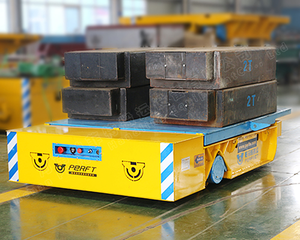 Heat Resistant Automatic Trackless Transfer Cart
