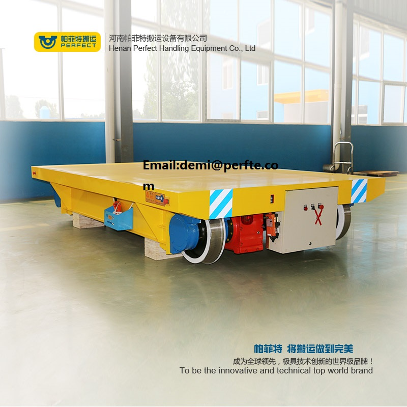 Cable Drum Powered  Rail Transfer Car