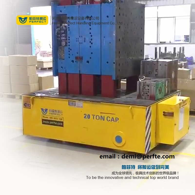 Motorized Die Transfer Cart  ,  Battery transfer Carriage on Wheels