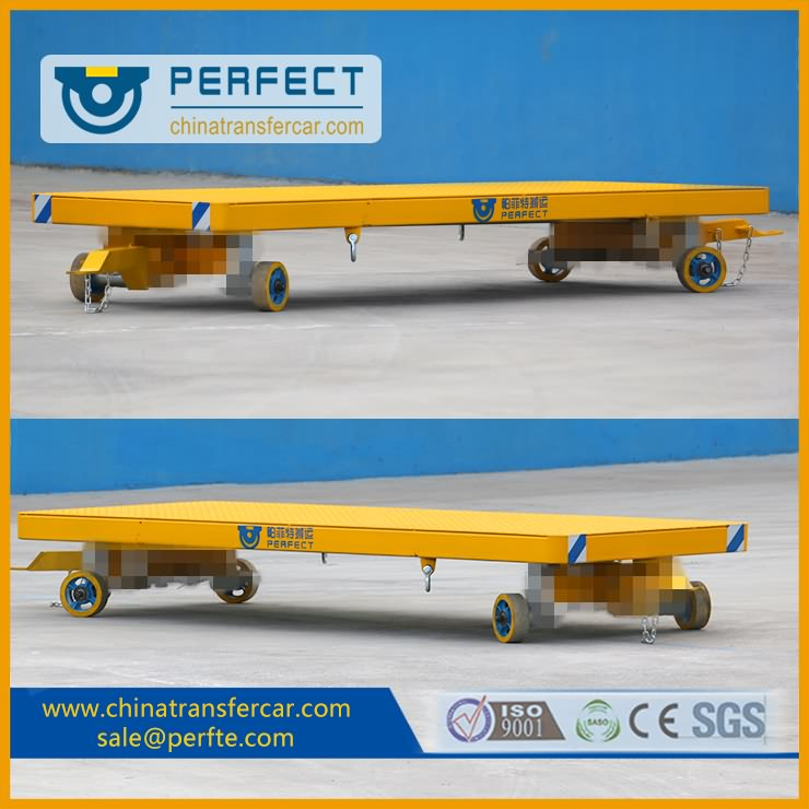 industrial trailers, trackless trailers, heavy duty trailers