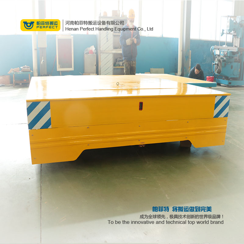 Smart Trackless Transfer cart , Smart Trackless Transfer cart On Cement Floor