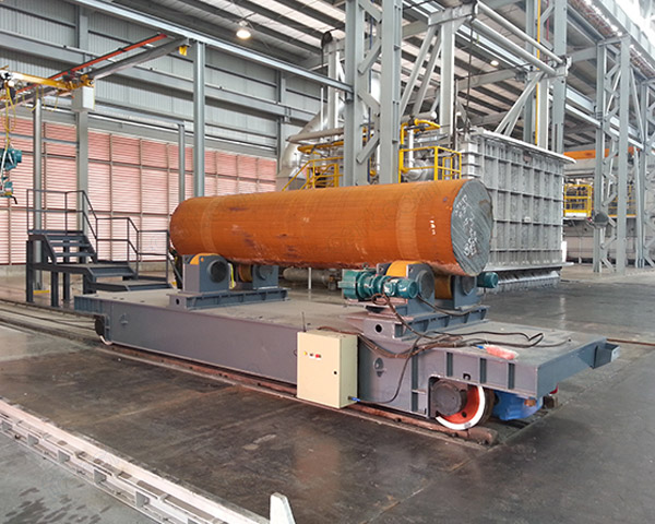 Cable Transfer Trolley Rail Handling Loader Material