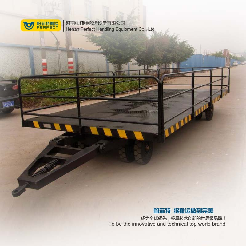 work trailer flat transfer cart