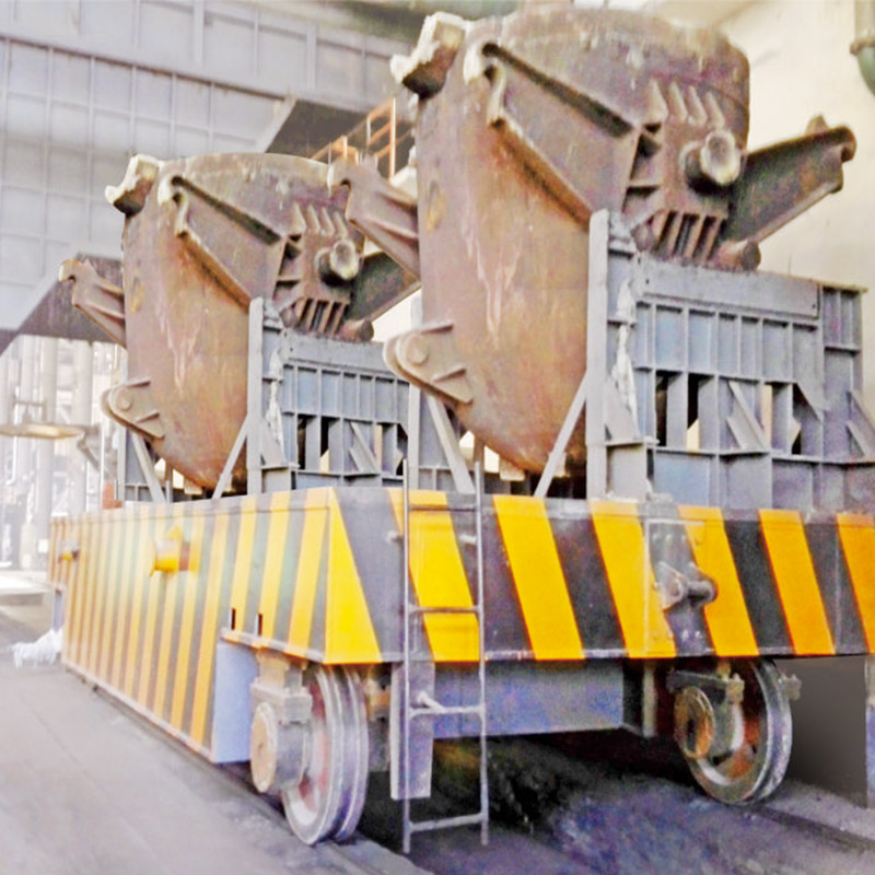 Steel Ladle and Coil Transfer Cart